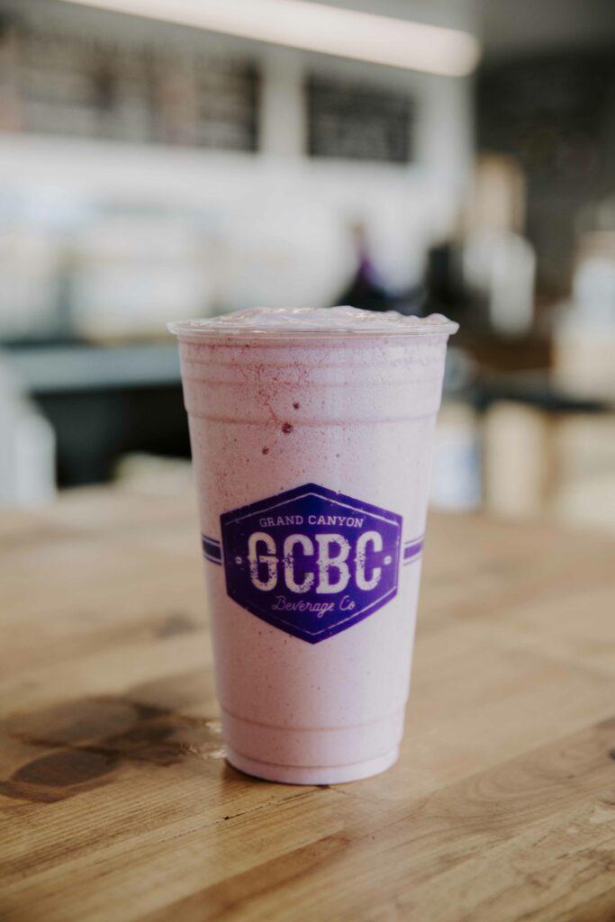GCBC strawberry smoothie