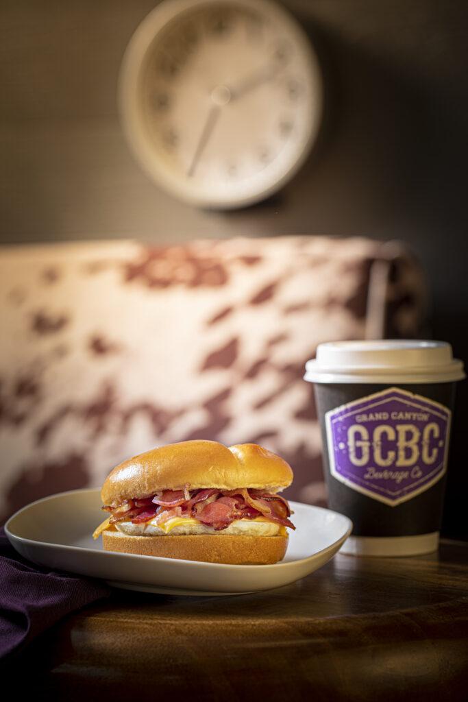 GCBC Sandwich and Coffee